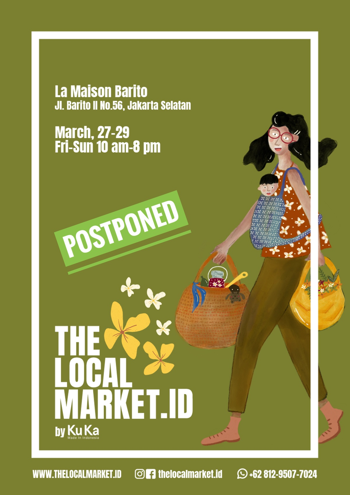 The Local Market - Spring Edition @ La Maison Barito
